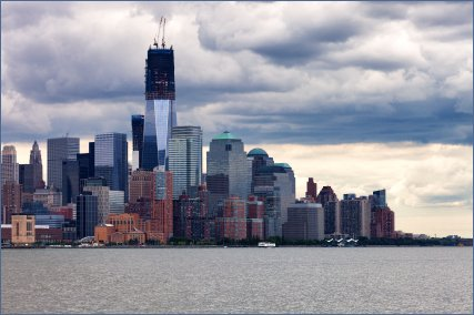 Lower Manhattan in June 2012